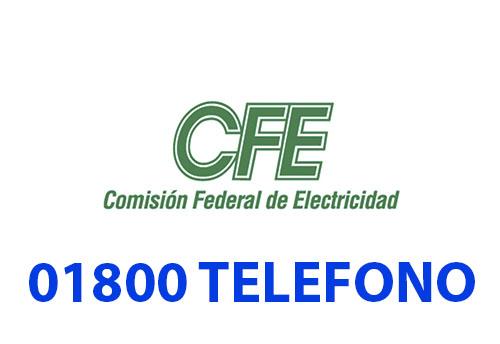 CFE telefono atención al cliente