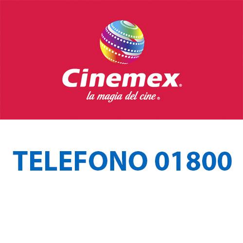 Cinemex telefono atención al cliente