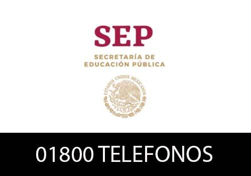 SEP Teléfono