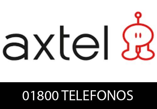 Axtel telefono atención al cliente
