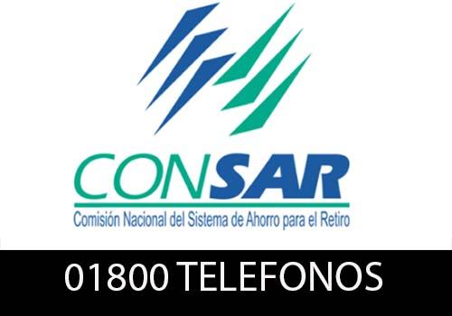 CONSAR Teléfono