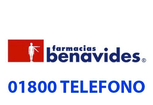 Farmacias Benavides telefono atención al cliente