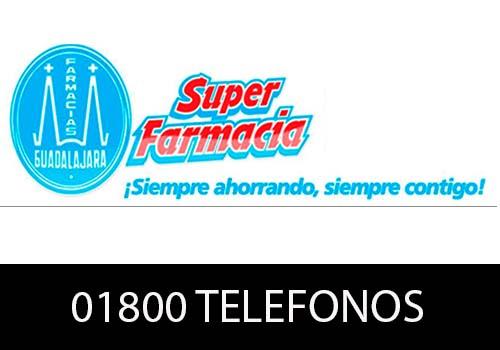 Farmacia Guadalajara  telefono atención al cliente