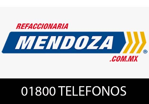 Refaccionaria Mendoza Teléfono