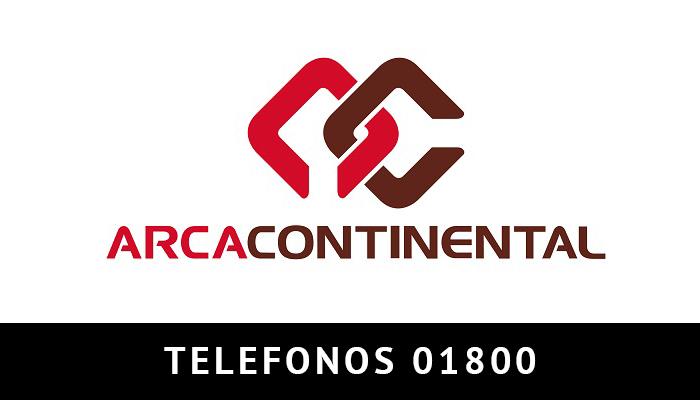 Arca Continental telefono atención al cliente