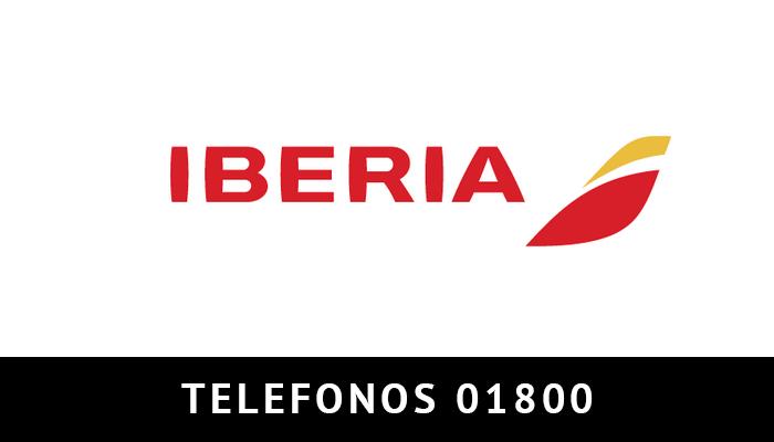 Iberia Mexico telefono atención al cliente