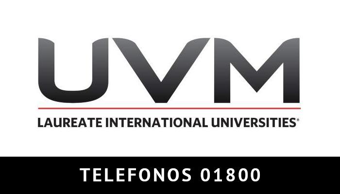 UVM telefono atención al cliente
