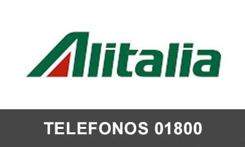 Alitalia Mexico telefono atención al cliente