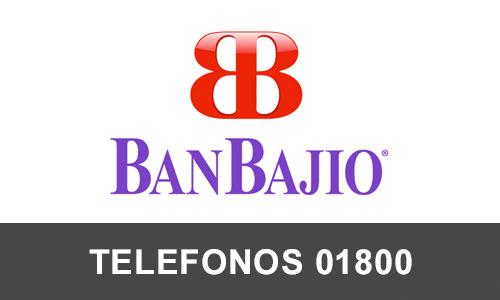 BanBajio  telefono atención al cliente