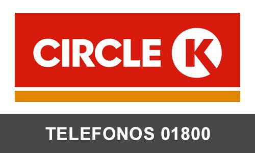 Circle k  telefono atención al cliente
