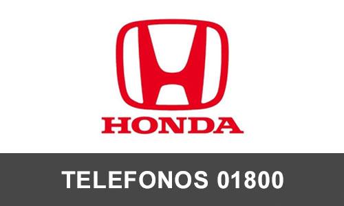 Honda telefono atención al cliente