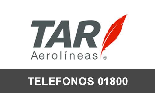 TAR Aerolineas telefono atención al cliente