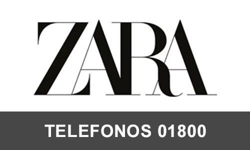 ZARA Mexico telefono atención al cliente